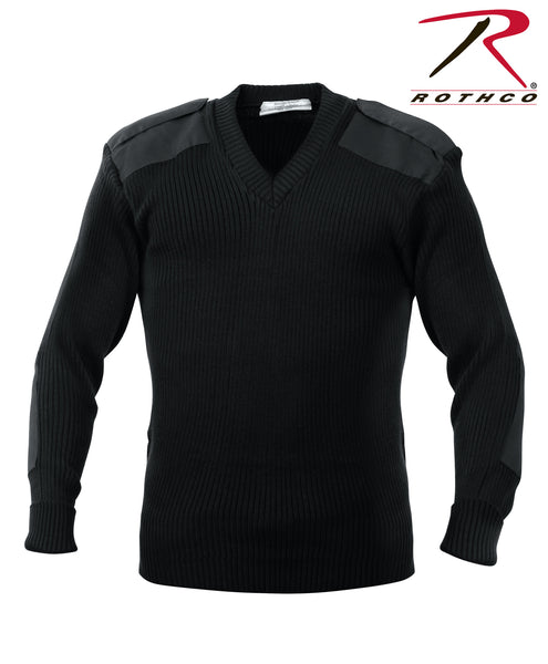 G.I. Style Acrylic V-Neck Sweater - Delta Survivalist