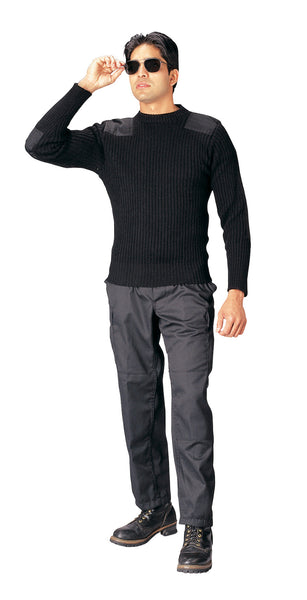 Government Type Wool Commando Sweater - Delta Survivalist