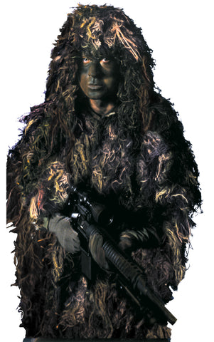 Bushrag The Complete Ghillie Suit Kit - Delta Survivalist