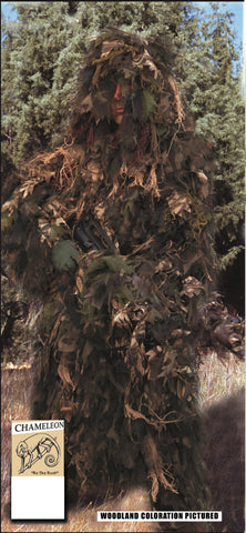 Chameleon Synthentic Ghillie Suit - Delta Survivalist