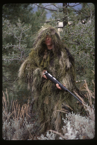 Ultra Light Long Ghillie Jacket - Delta Survivalist