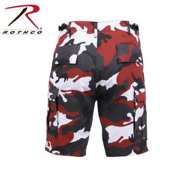 Color Camo BDU Shorts - Delta Survivalist