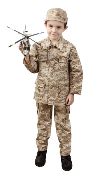 Kids Digital Camo B.D.U. Pants - Delta Survivalist
