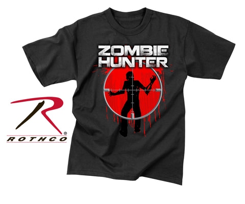 Vintage Zombie Hunter T-Shirt - Delta Survivalist