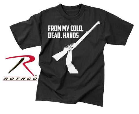 "Vintage ""From My Cold Dead Hands"" T-Shirt - Delta Survivalist"