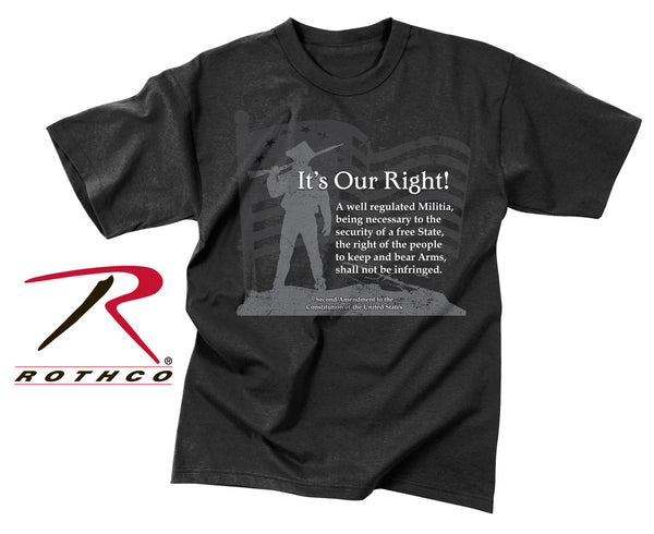 "Vintage ""It's Our Right"" T-Shirt"