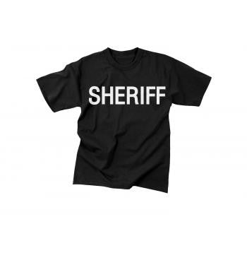 2-Sided Sheriff T-Shirt - Delta Survivalist