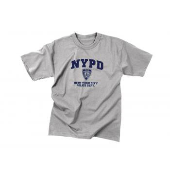 Officially Licensed NYPD Physical Training T-Shirt - Delta Survivalist
