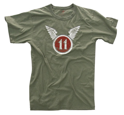 Vintage ''11th Airborne'' T-shirt - Delta Survivalist