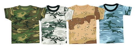 Kids Camo T-Shirts - Delta Survivalist