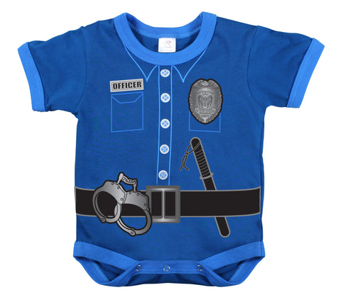 Infant One Piece / Police Uniform - Navy - Delta Survivalist