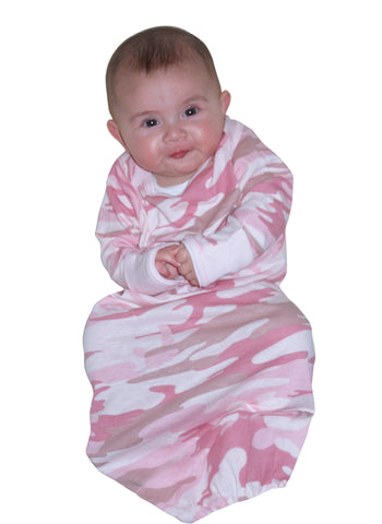 Infant Long Sleeve Camo One-Piece Sleeper - Delta Survivalist