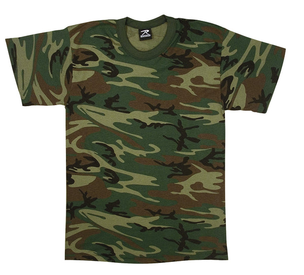 Woodland Camo U.S. Made T-Shirt