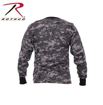 Long Sleeve Digital Camo T-Shirts - Delta Survivalist