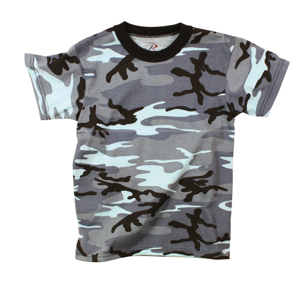 Colored Camo T-Shirt