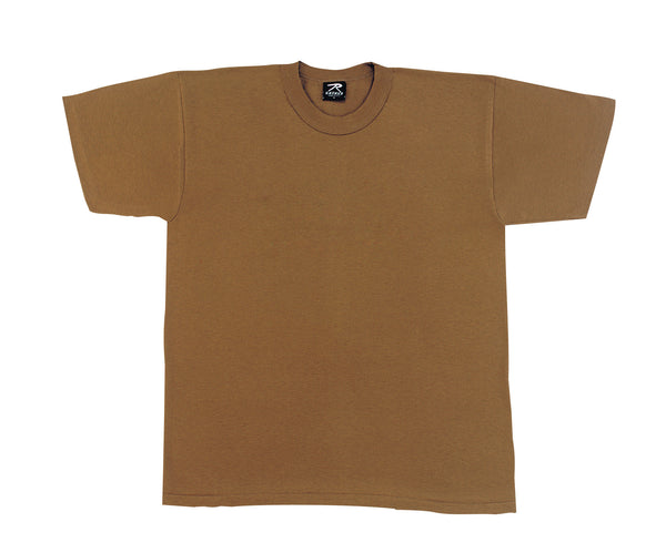 Solid Color Poly/Cotton Military T-Shirt - Delta Survivalist