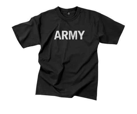 Army Reflective Grey P/T T-shirt - Delta Survivalist