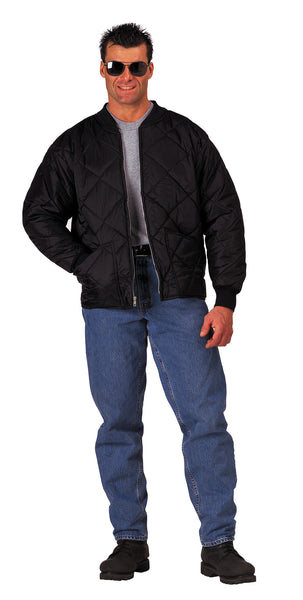 Diamond Nylon Quilted Flight Jacket - Delta Survivalist