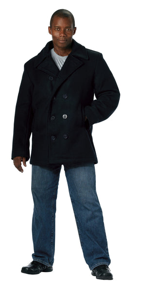US Navy Type Pea Coat - Delta Survivalist