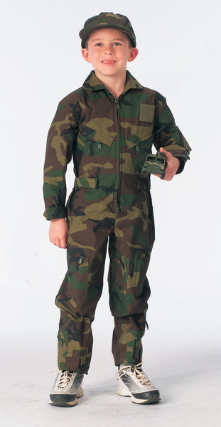Kids Air Force Type Flightsuit - Delta Survivalist