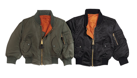 Kids MA-1 Flight Jackets - Delta Survivalist