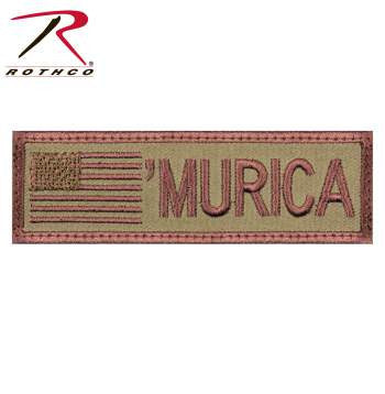 """Murica"" Flag Patch - Delta Survivalist"