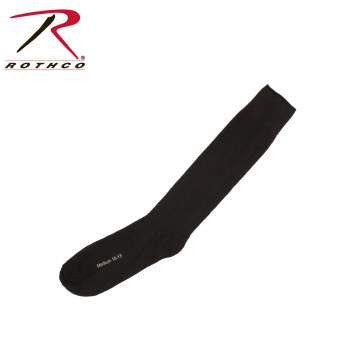 Black Irregular Polypropylene Socks