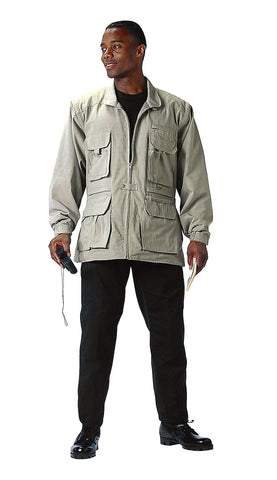 Convertible Safari Jacket - Delta Survivalist