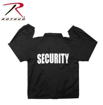 Lined Coaches Jacket / Security - Delta Survivalist