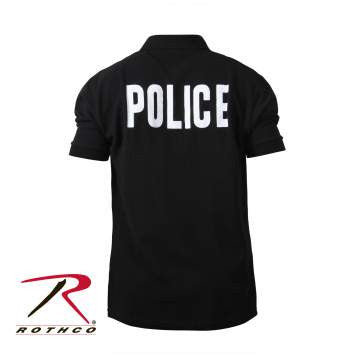 Law Enforcement Printed Polo Shirts - Delta Survivalist