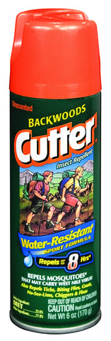Cutter Unscented Backwoods Insect Repellent Aerosol - Delta Survivalist