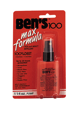 Ben's100 Insect Repellent Spray Pump 1.5oz - Delta Survivalist