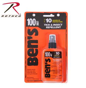 100 Spray Pump Insect Repellent / 3.4 Oz - Delta Survivalist