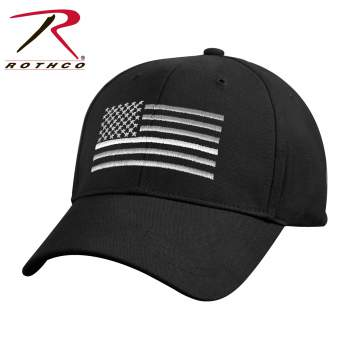 Thin White Line Flag Low Pro Cap