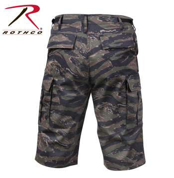 Long Length Camo BDU Shorts - Delta Survivalist