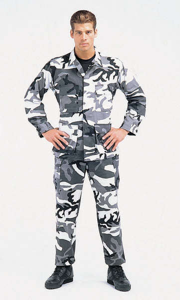 Color Camo BDU Pant