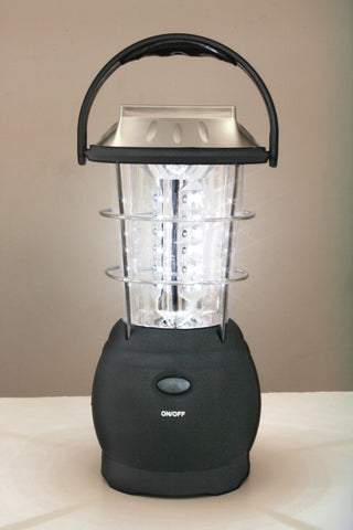 36-Bulb LED Solar and Handcrank Lantern - Delta Survivalist