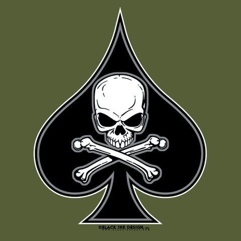 Black Ink 'Death Spade' T-Shirt - Delta Survivalist