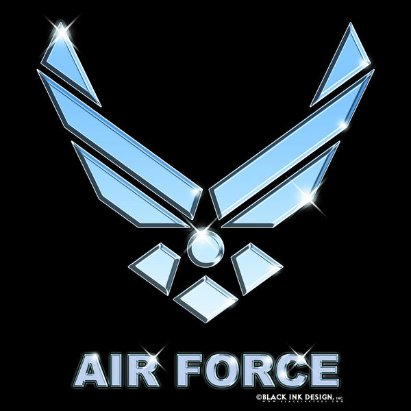 Black Air Force T-Shirt