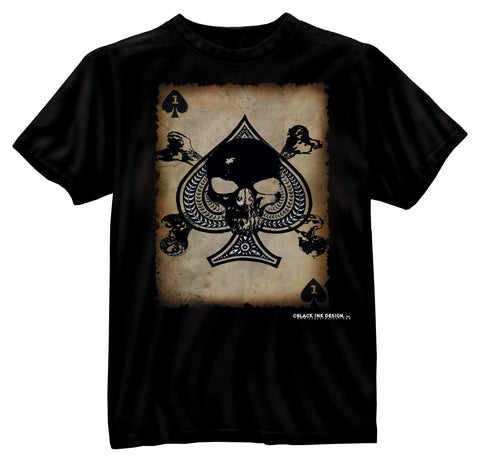 Black Ink 'Death Card' T-Shirt - Delta Survivalist