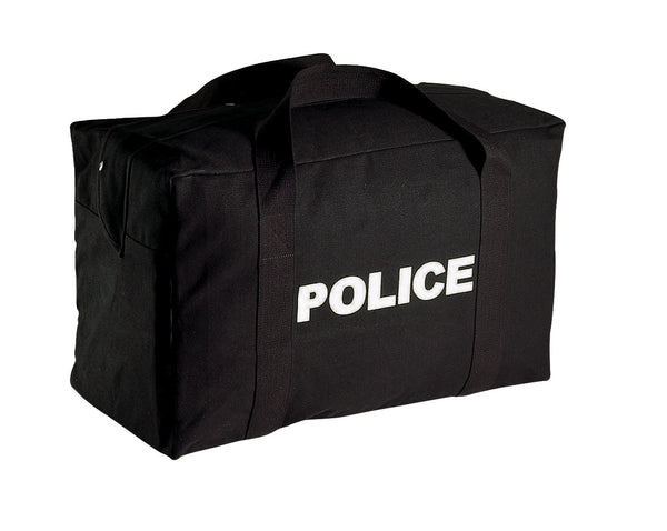 Black Police Equipment Bag