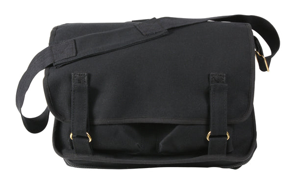 Canvas European School Bag - Delta Survivalist