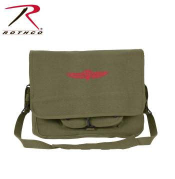 Canvas Israeli Paratrooper Bag - Delta Survivalist