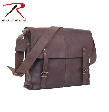 Brown Leather Medic Bag - Delta Survivalist