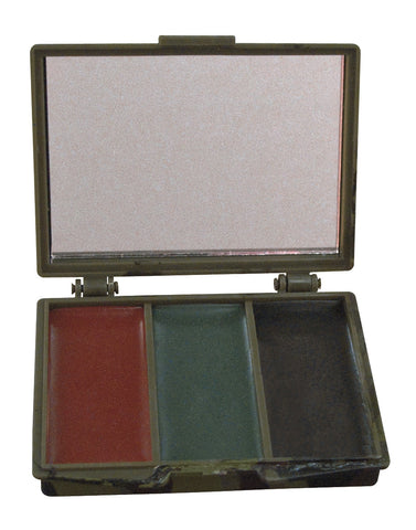 3 Color Face Paint Compact - Delta Survivalist
