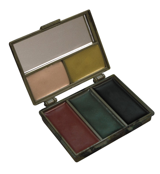 Five-color Bark Camouflage Face Paint Compact