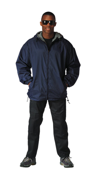 Reversible Lined Jacket With Hood - Delta Survivalist