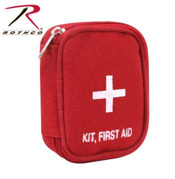 Military Zipper First Aid Kit Pouch - Delta Survivalist