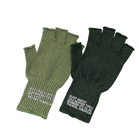 Fingerless Wool Gloves - Delta Survivalist