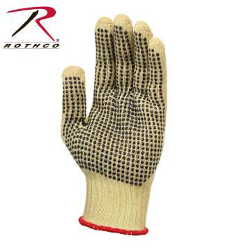 Cut Resistant Gloves With Gripper Dots - Delta Survivalist